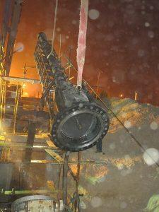دستگاه هات تپ برای انجام عملیات زاویه دار انشعاب گرم